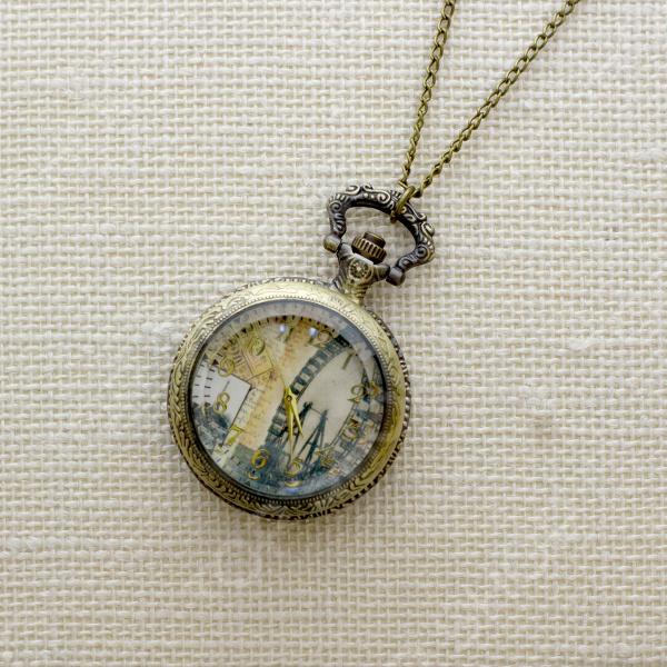 Кулон-часы Mitya Veselkov «Аттракцион»