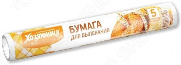 Бумага для выпекания Хозяюшка «Мила» 09001 бумага для выпекания cuoco 5 м