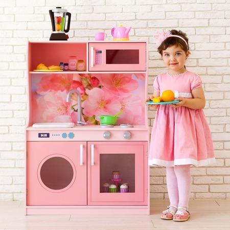 Купить Кухня игрушечная PAREMO «Фиори Роуз Мини»