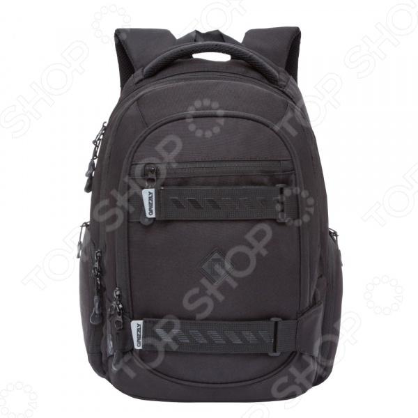 Рюкзак молодежный Grizzly RU-812-2 школьные рюкзаки grizzly рюкзак ru 619 2