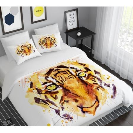 Купить Комплект постельного белья Сирень «Взгляд хищника»
