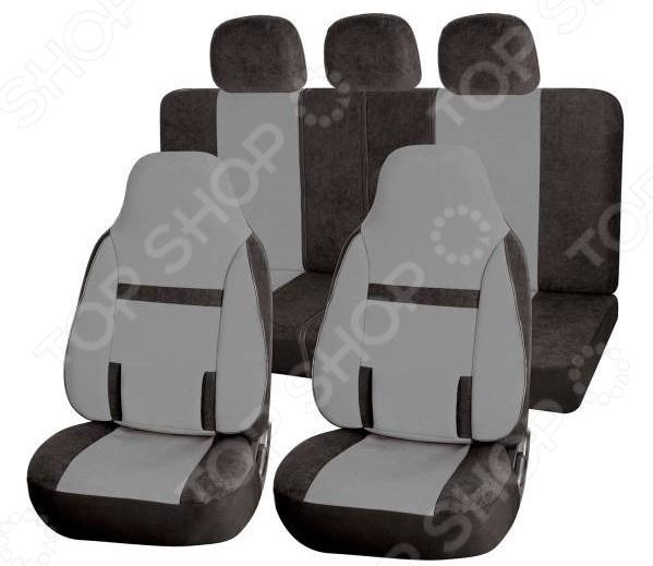 Набор чехлов для сидений SKYWAY Protect 2 «Три полоски» поворотный механизм для сидений в украине