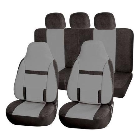 Купить Набор чехлов для сидений SKYWAY Protect 2 «Три полоски»