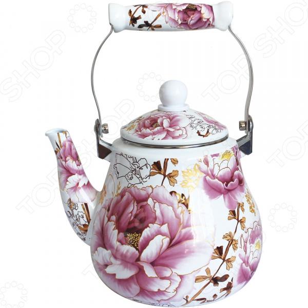 Чайник эмалированный Rainstahl RS-7530-25 чайник эмалированный rainstahl rs 7541 22