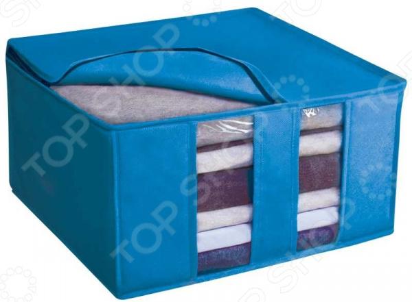 Фото - Коробка для хранения Рыжий кот 004503 коробка рыжий кот 33х20х13см 8 5л д хранения обуви пластик с крышкой
