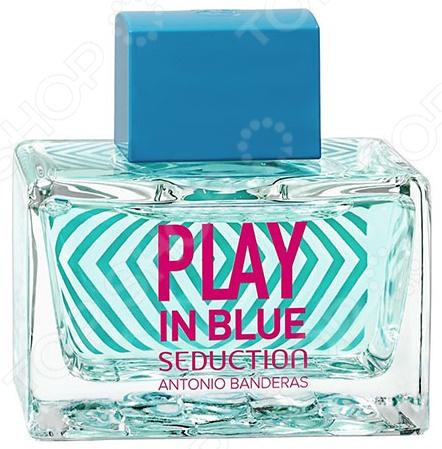 Туалетная вода для женщин Antonio Banderas Play Blue Seduction Woman, 80 мл