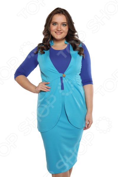 Костюм-тройка Матекс «Важная персона». Цвет: голубой костюмы btc костюм тройка modern