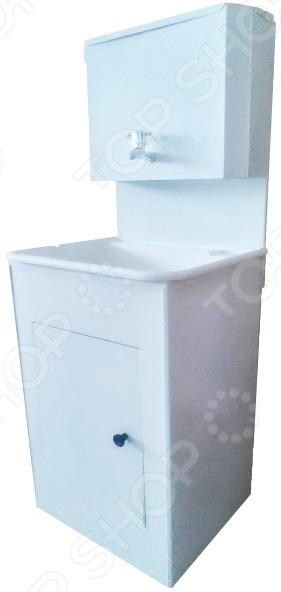 Умывальник Дачник без ЭВН пластик. Цвет: белый