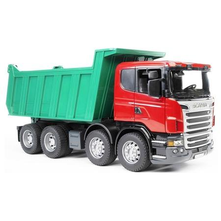 Купить Самосвал игрушечный Bruder Scania