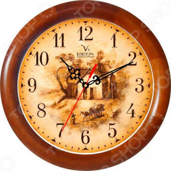 Часы настенные Вега Д 1 Д 7 161 «Усадьба»