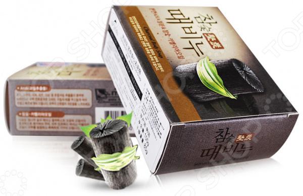 Мыло-скраб для тела Mukunghwa «Древесный уголь» уголь древесный грилькофф firebox отборный 1 5 кг