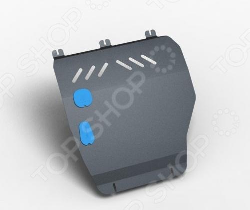Комплект: защита картера и крепеж NLZ Suzuki Splash 2008: 1,0/1,2 бензин МКПП/АКПП