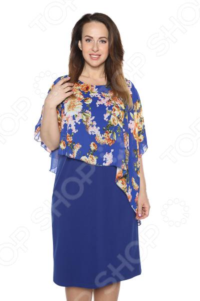 Платье Blagof Платье «Флоренция». Цвет: васильковый