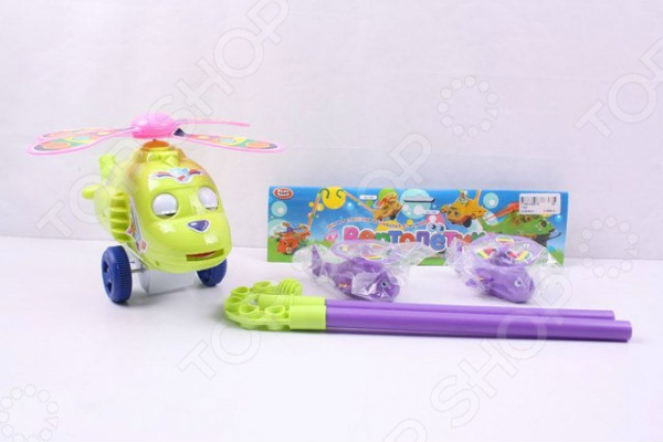 Игрушка-каталка для малыша PlaySmart «Вертолетик» Р40869