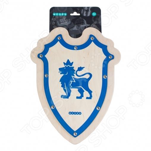 Оружие игрушечное WOODY «Щит рыцаря английский» игрушечное оружие maskbro maskbro mp002xc006ut