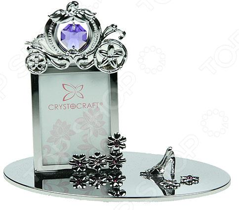 Фоторамка Crystocraft «Карета Принцессы» с кристаллами Swarovski 67506