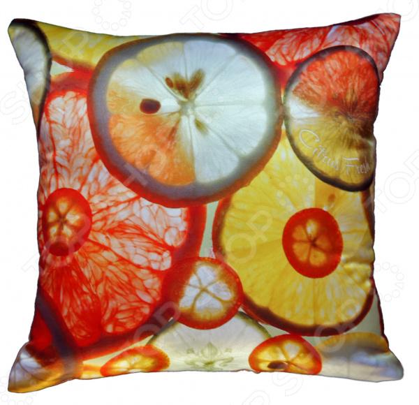 Подушка декоративная Gift'n'Home «Цитрусовая свежесть»
