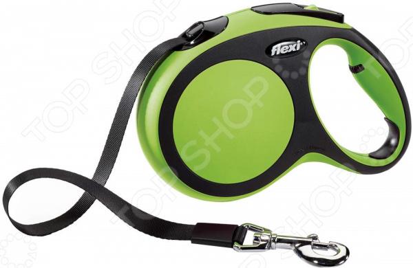 Поводок-рулетка Flexi New Comfort. Тип поводка: лента