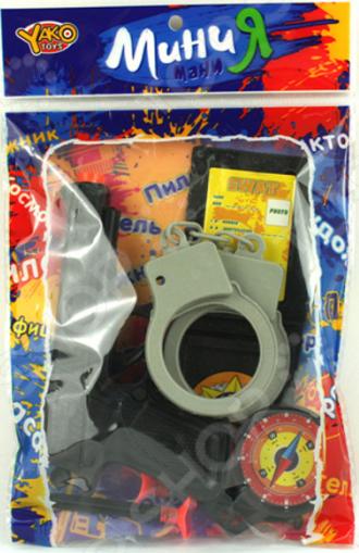 Игровой набор для мальчика Yako «Полиция» 1724710