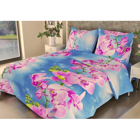 Купить Комплект постельного белья Fiorelly «Орхидеи». 1,5-спальный