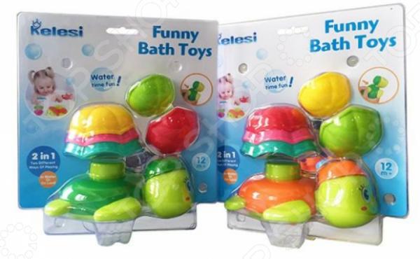 Набор игрушек для купания Наша Игрушка «Черепашка». В ассортименте игрушки для ванны жирафики набор для купания черепашка и пингвин