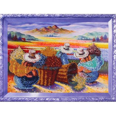 Купить Набор для вышивания бисером Color Kit «Цветочницы»
