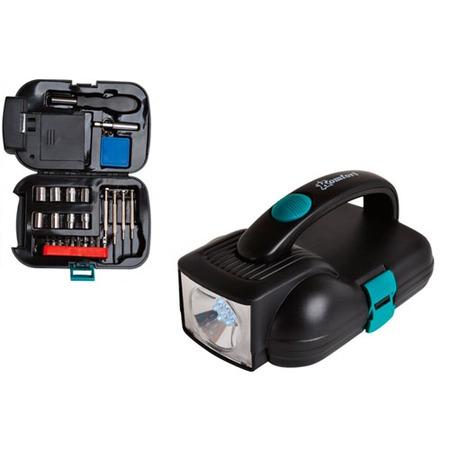 Купить Набор инструментов с фонарем Komfort KF-1013