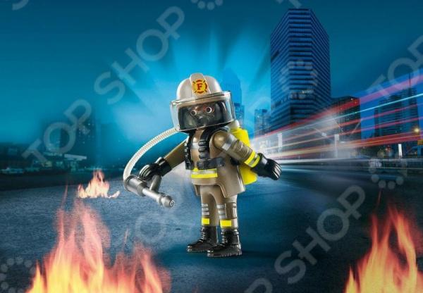 цена на Фигурка сборная Playmobil «Друзья: Пожарный»