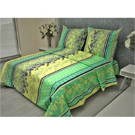 Купить Комплект постельного белья Fiorelly «Орнамент с цветами». 1,5-спальный