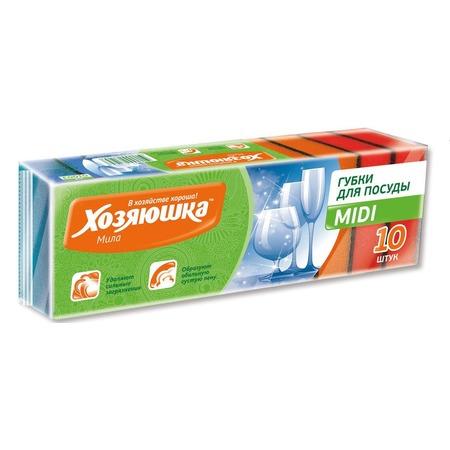 Купить Набор губок для мытья посуды Хозяюшка «Мила» 01003