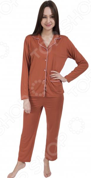 Пижама женская «Бамбук и медь»