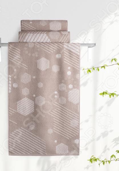 Полотенце махровое Aquarelle «Мербау вид 1». Цвет: мокко, бежевый полотенце махр aquarelle таллин 35х70см мокко
