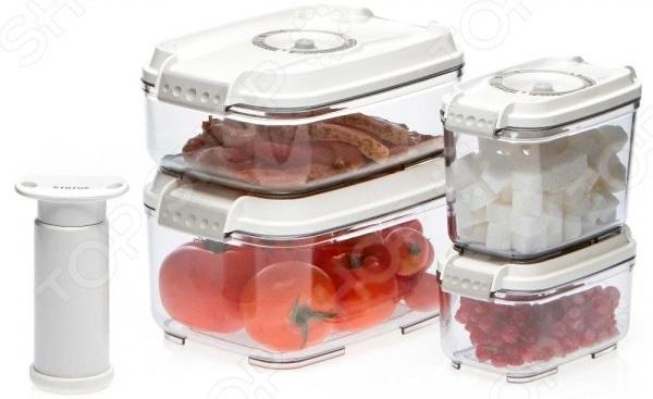 Набор вакуумных контейнеров для продуктов STATUS VAC-REC-Smaller 1