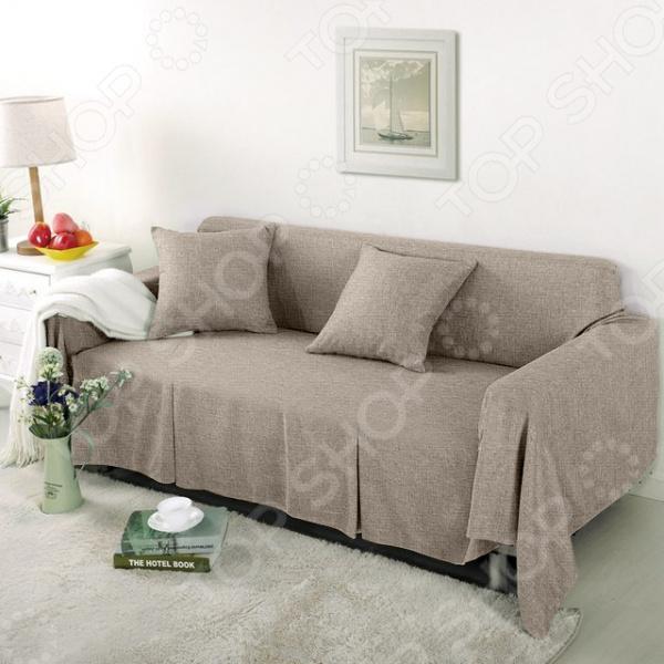 Чехол на широкий трехместный диван Медежда «Лидия»