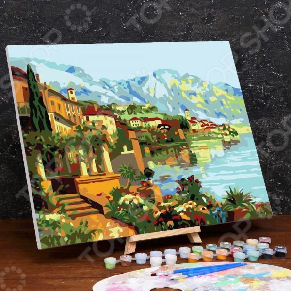 Картина по номерам Школа талантов «Побережье»
