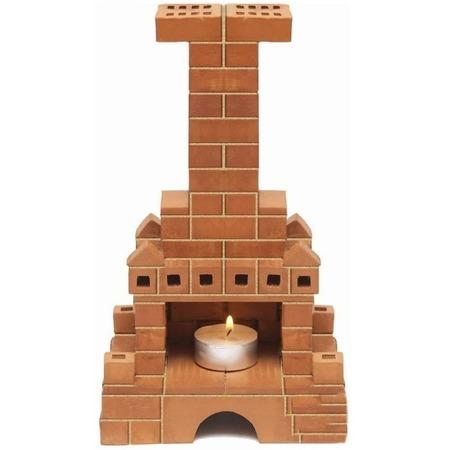 Купить Конструктор из глины Brick Master «Печка»