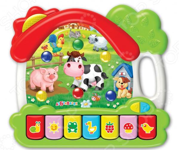 Игрушка обучающая музыкальная Азбукварик «Ферма. Музыкальный домик»