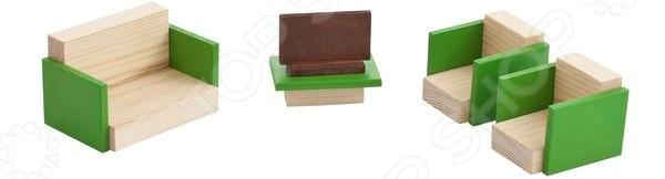 Набор мебели для мини-кукол PAREMO «Гостиная»