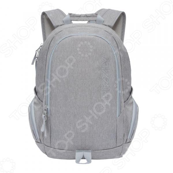 Рюкзак молодежный Grizzly RU-809-1 рюкзак городской grizzly цвет серый ru 809 1 1