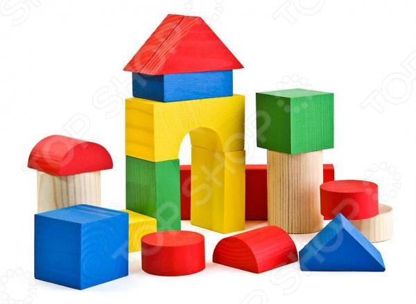 Конструктор Томик «Цветной» томик деревянный конструктор цветной 26 деталей