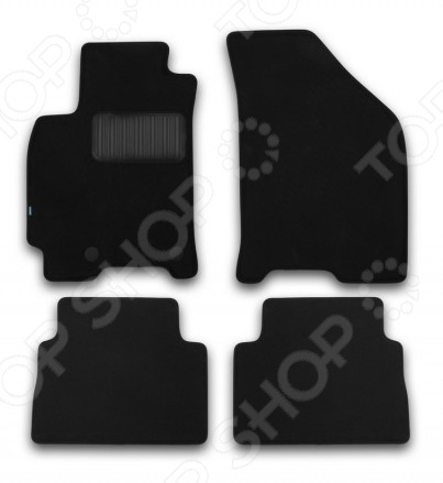 Комплект ковриков в салон автомобиля Klever Daewoo Gentra 2013 Premium