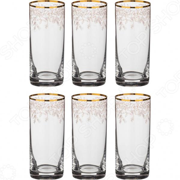 Набор стаканов Bohemia Crystal «Анжела» 674-508