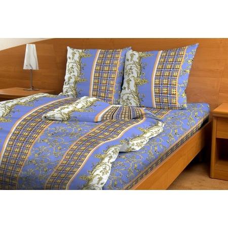 Купить Комплект постельного белья Fiorelly «Дворцовая клетка». 1,5-спальный