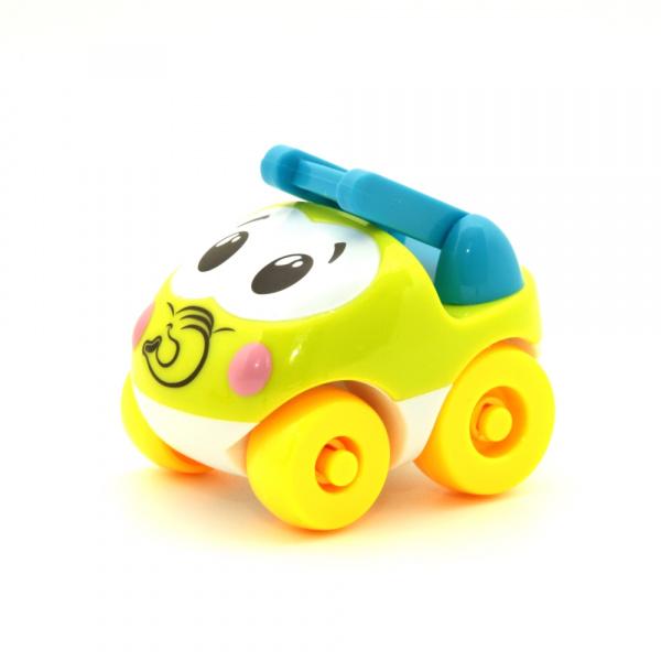 Машинка игрушечная Balbi «Забавные машинки» PT-003. В ассортименте машинки balbi веселые зверята
