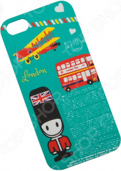 Чехол для iPhone 5/5S/SE Umku «Англия»