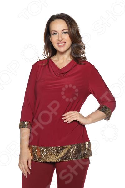 Блуза VEAS «Самаркандская царица». Цвет: золотистый