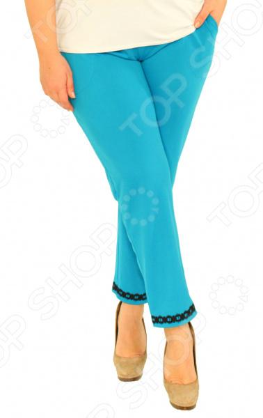 Бриджи Laura Amatti «Лот 1005». Цвет: голубой юбка laura amatti лот 1029 цвет бежевый
