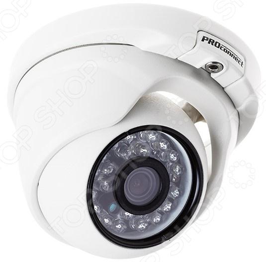 Камера видеонаблюдения купольная уличная PROconnect 45-0136 камера видеонаблюдения купольная уличная rexant 45 0134
