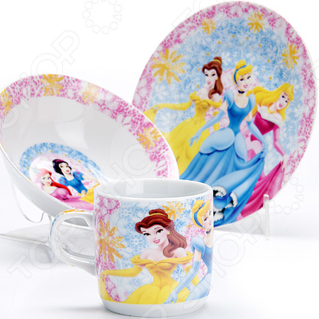 Набор посуды для детей Loraine «Принцесса» LR-27339