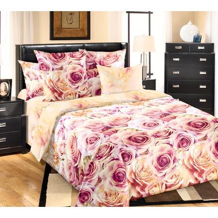 Купить Комплект постельного белья ТексДизайн «Миллион алых роз». 1,5-спальный